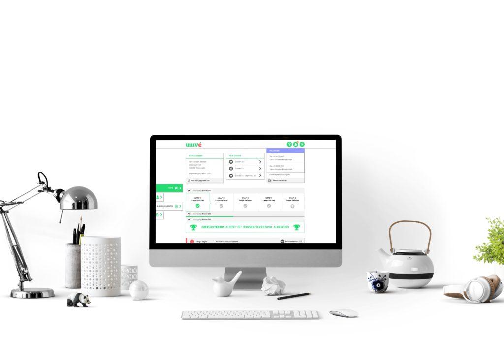 Interactie ontwerp - applicatie - MijnPortaal