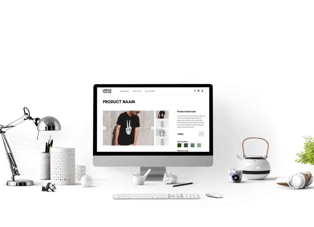 Interactie en visueel ontwerp - Urban Tailor design