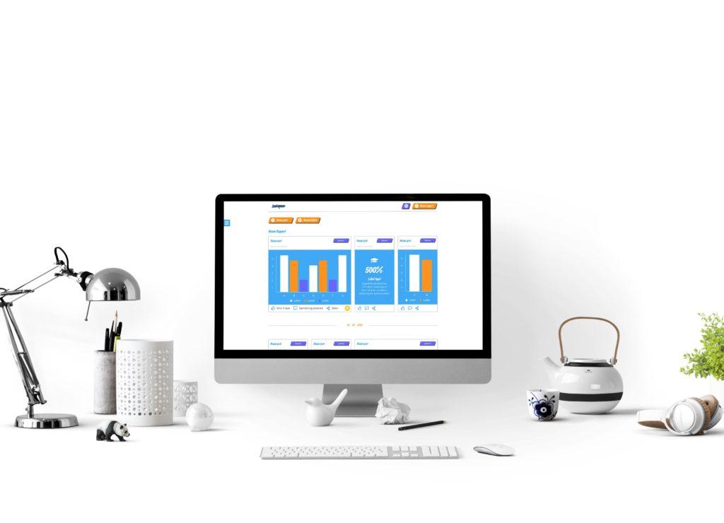 Interactie en visueel ontwerp – YourCommerce