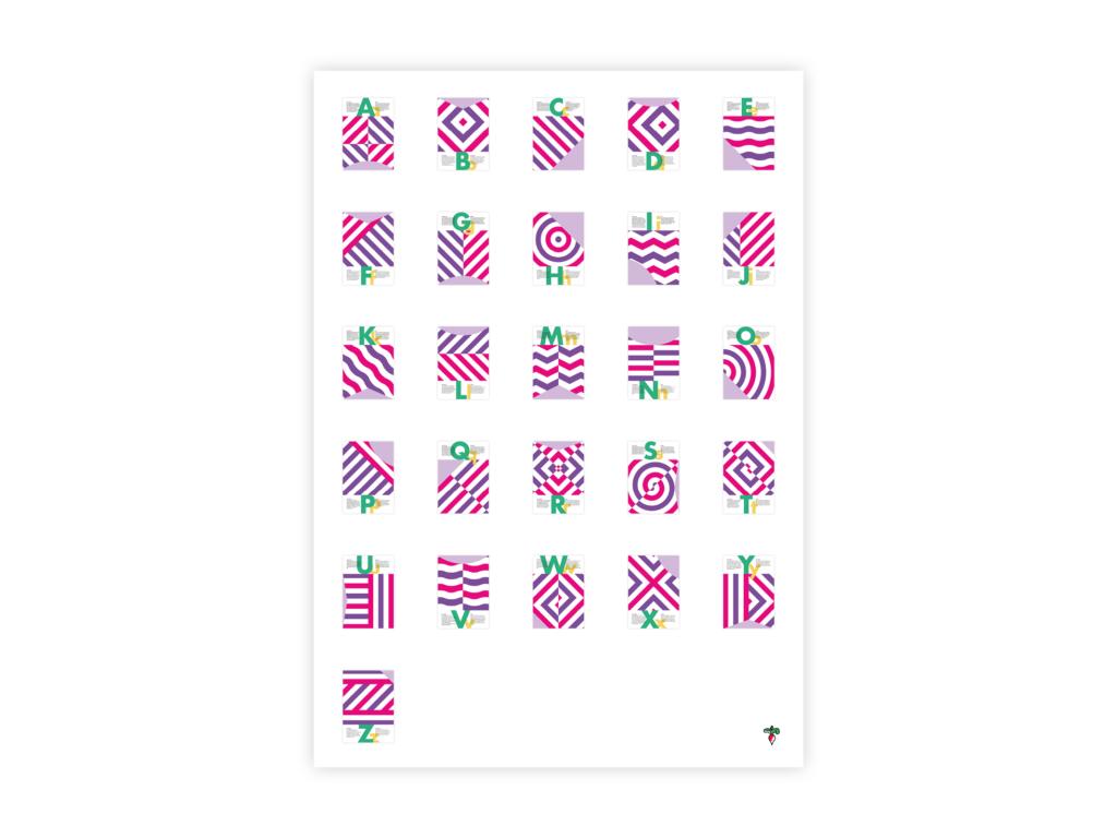 Posters Alfabet - Radijs Ontwerp